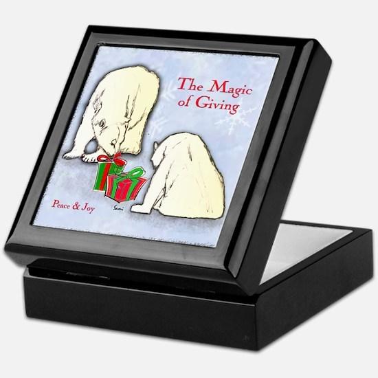 Polar Bears Gift Keepsake Box
