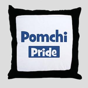 Pomchi pride Throw Pillow
