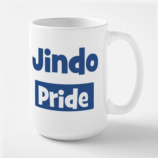 Jindo pride Large Mug
