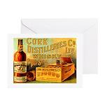 Cork Distilleries Co. Ltd. Greeting Cards (Pk of 2