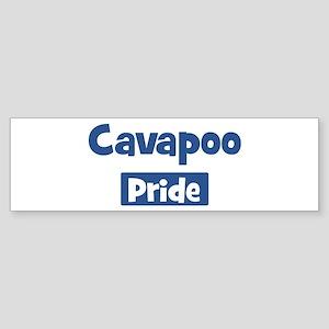 Cavapoo pride Bumper Sticker