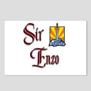 Sir Enzo Postcards (Package of 8)