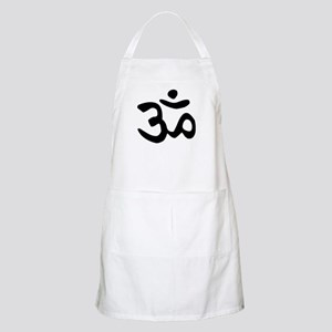 Yoga symbol Sanskrit writing BBQ Apron