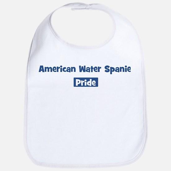 American Water Spaniel pride Bib