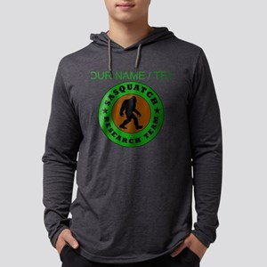 Custom Sasquatch Research Team Long Sleeve T-Shirt