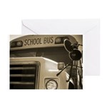 School Bus Greeting Cards (Pk of 10)