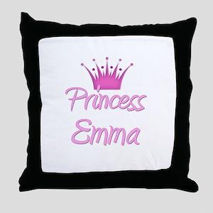 Princess Emma Throw Pillow