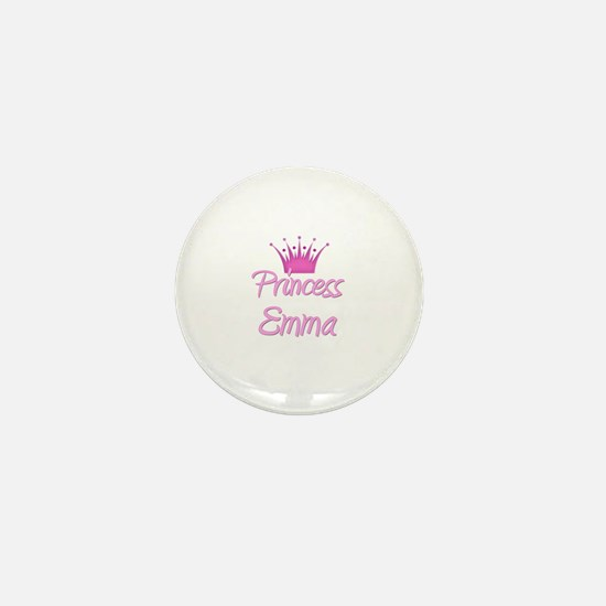 Princess Emma Mini Button