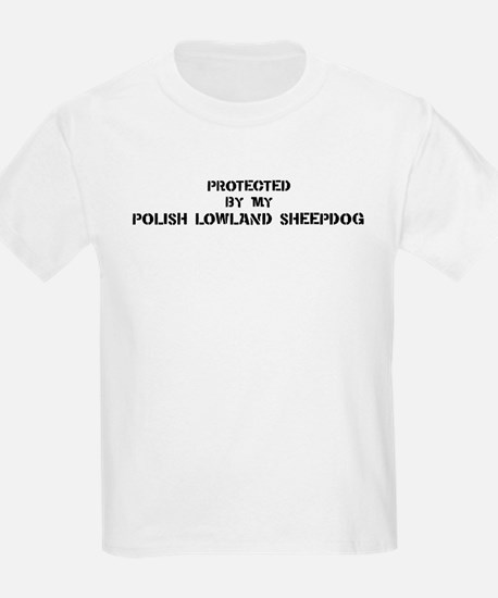 Protected by Polish Lowland S T-Shirt