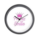 Princess Emilie Wall Clock