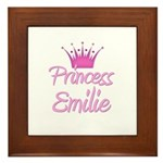 Princess Emilie Framed Tile