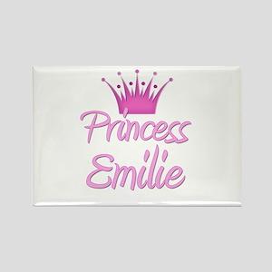 Princess Emilie Rectangle Magnet