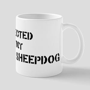 Protected by Maremma Sheepdog Mug