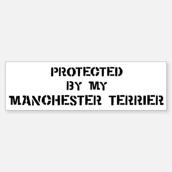 Protected by Manchester Terri Bumper Bumper Bumper Sticker
