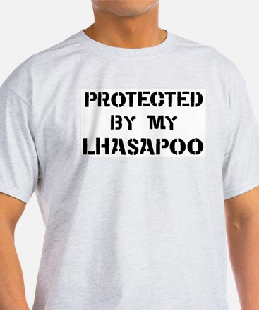 Protected by Lhasapoo T-Shirt