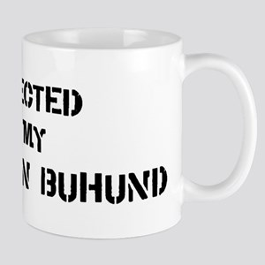 Protected by Norwegian Buhund Mug