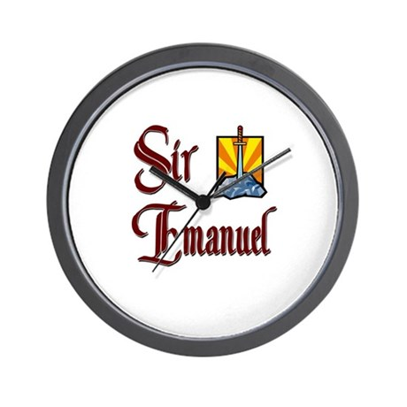 Sir Emanuel Wall Clock