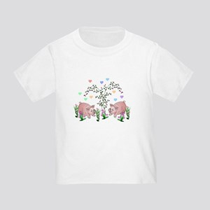 Pigs In Garden T-Shirt