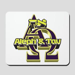 Aleph & Tav Mousepad