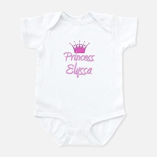 Princess Elyssa Infant Bodysuit