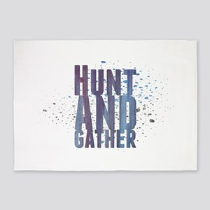 Hunt and gather 5'x7'Area Rug
