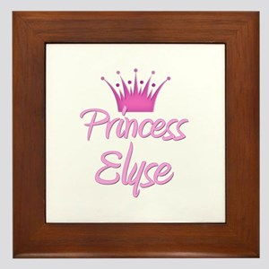 Princess Elyse Framed Tile