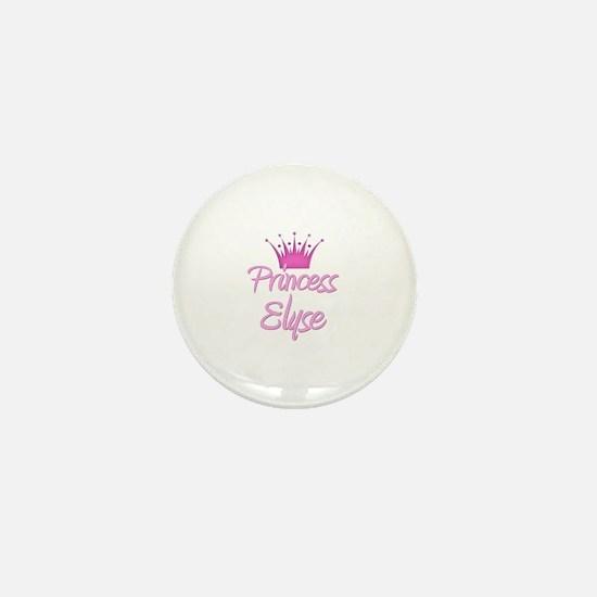 Princess Elyse Mini Button
