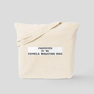Protected by Estrela Mountain Tote Bag