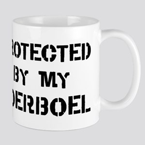 Protected by Boerboel Mug