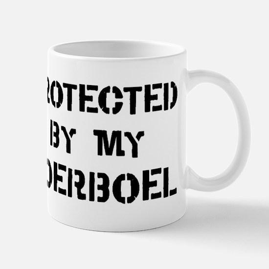 Protected by Boerboel Mug