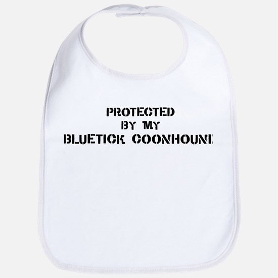 Protected by Bluetick Coonhou Bib