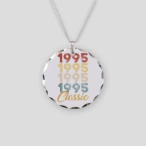 Vintage 1995 Classic 23th Bi Necklace Circle Charm