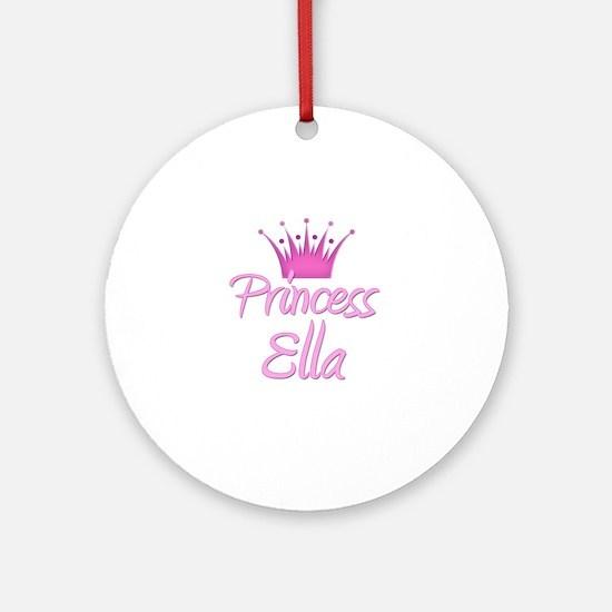 Princess Ella Ornament (Round)