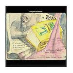 Salinger/Valencia Tile Coaster