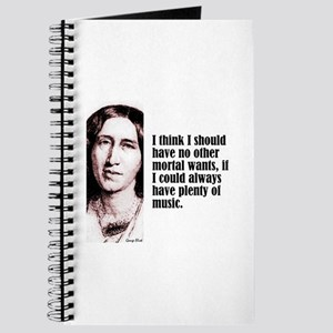 "Eliot ""Music"" Journal"