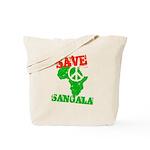 Save Sangala Tote Bag