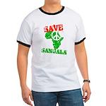 Save Sangala Ringer T