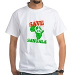 Save Sangala White T-Shirt
