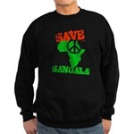 Save Sangala Sweatshirt (dark)