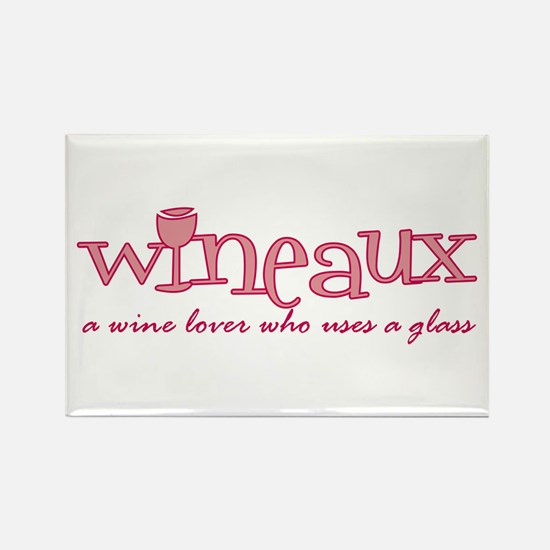 Wineaux def Rectangle Magnet