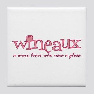 Wineaux def Tile Coaster