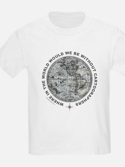 MAP/CARTOGRAPHY T-Shirt