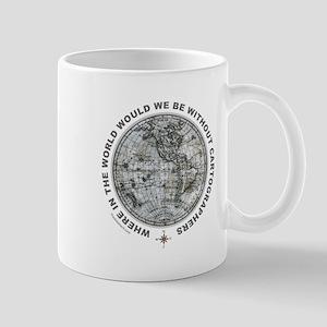 MAP/CARTOGRAPHY Mug