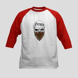 Bruce Tartan Bandit Kids Baseball Jersey