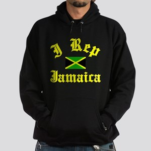 I rep Jamaica Hoodie (dark)