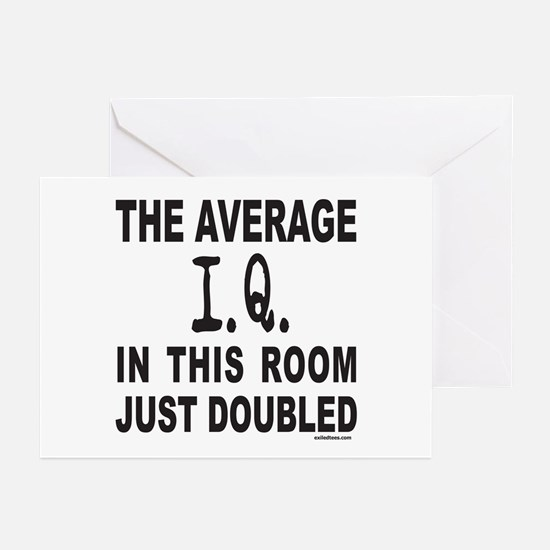 INTELLIGENCE/I.Q. Greeting Cards (Pk of 20)