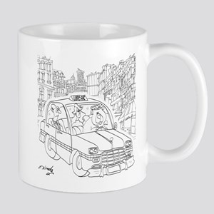 Uber Cartoon 9440 Mug