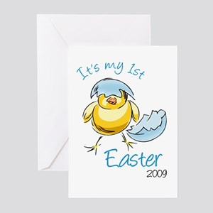 It's My First Easter '09 Greeting Cards (Pk of 10)