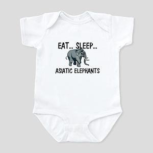Eat ... Sleep ... ASIATIC ELEPHANTS Infant Bodysui