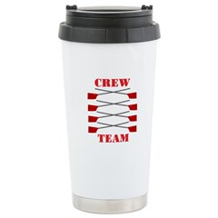 Crew Team Stainless Steel Travel Mug